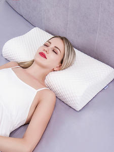 Massager Pillows Release-Bedding Memory-Foam Cervical Orthopedic Health-Care Coccyx Neck