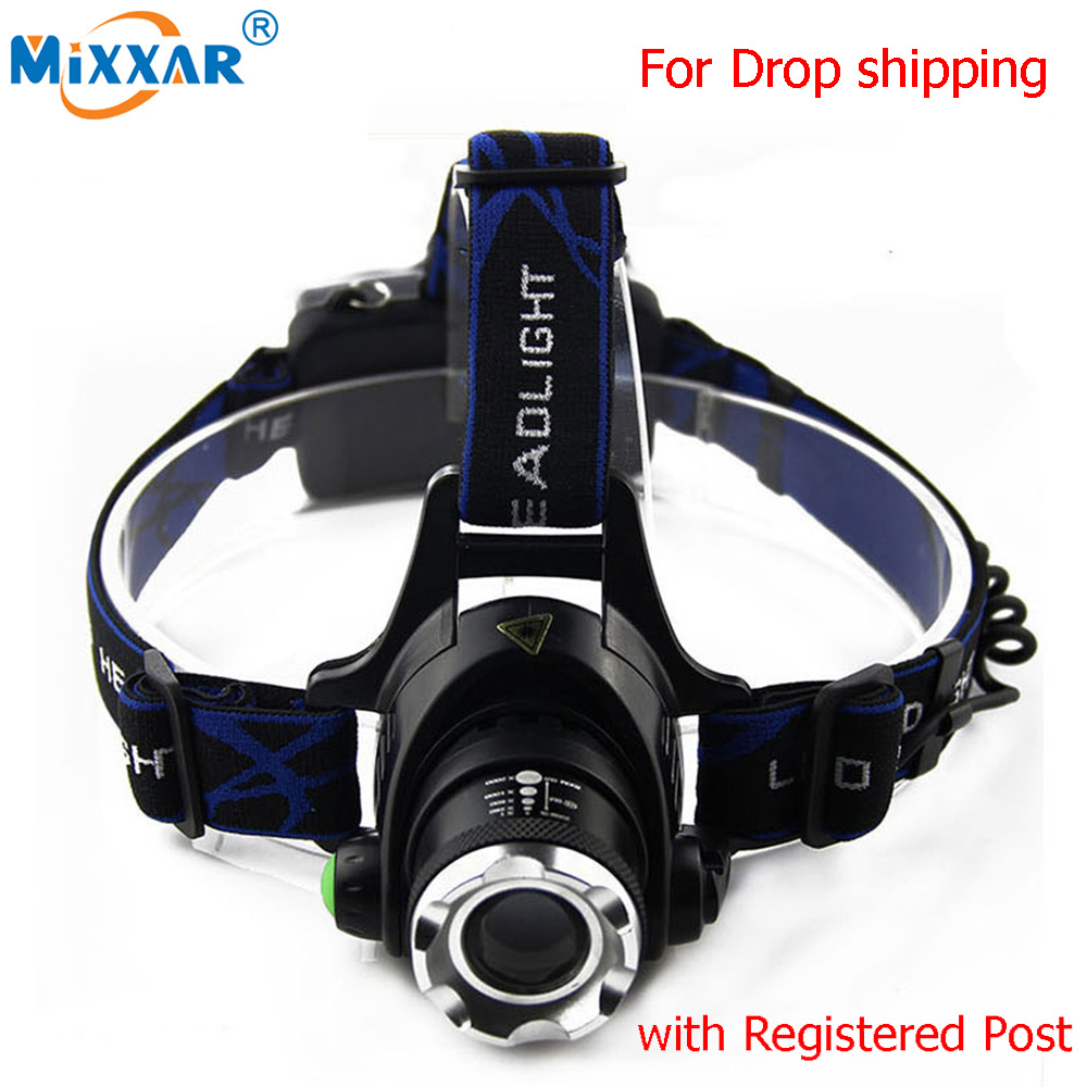 6000LM Led Headlamps HeadLights Waterproof Head Flashlight Forehead Head Headlights Torch Hunting Mining Fishing Light Lamp