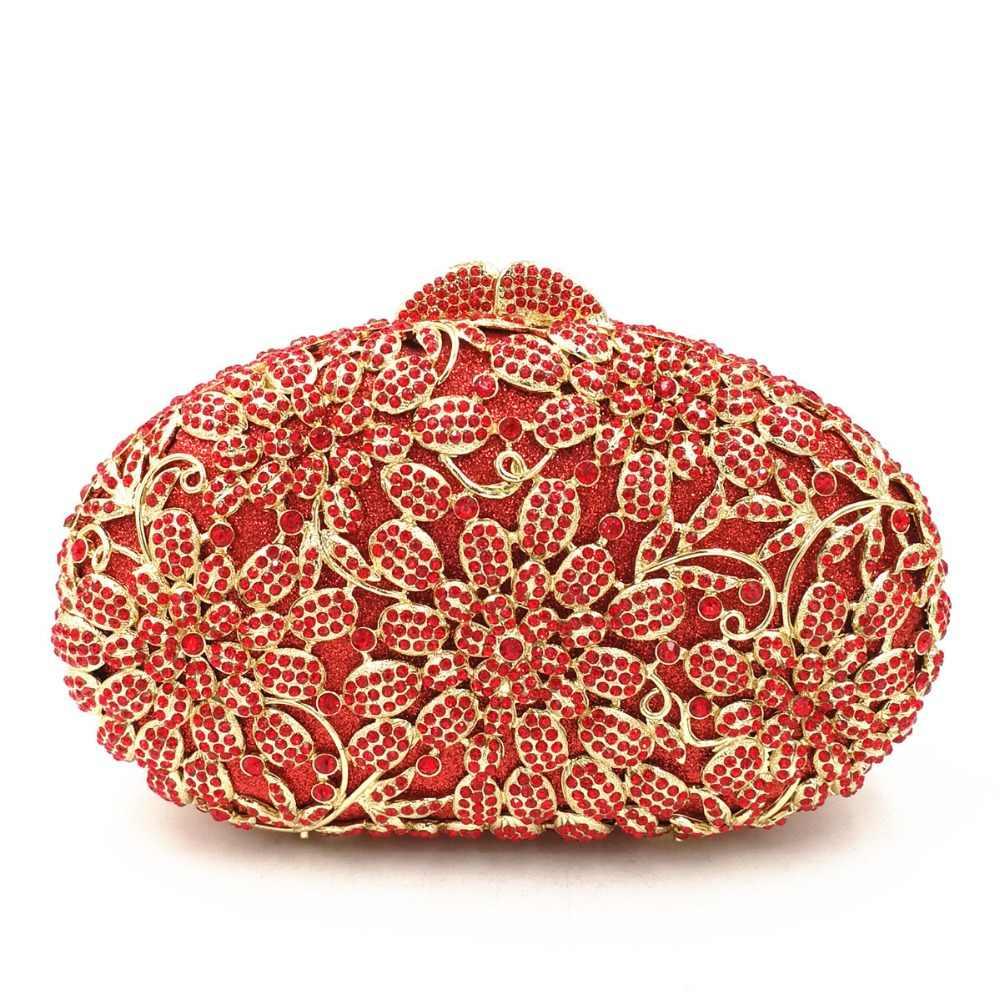 Женские золотые/красный/Шампанское/серый/черный коктейль Вечерние вечернее платье клатч кристалл алмаза кошелек серебро сумки на плечо