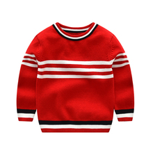 Vinnytido 2017 Winter Boys Sweaters Kids O-Neck knitting Children Clothes Casual Outerwear