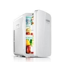 Мини холодильник 20L двойного охлаждения маленький холодильник мини мелкая бытовая мини косметические маски автомобиля общежитии
