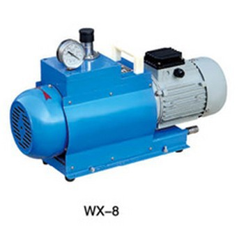 Linhai City Tan Vacuum WX-8 Oil Free Rotary Vane Vacuum Pump 8L/S  AC380V manka care 110v 220v ac 50l min 165w small electric piston vacuum pump silent pumps oil less oil free compressing pump