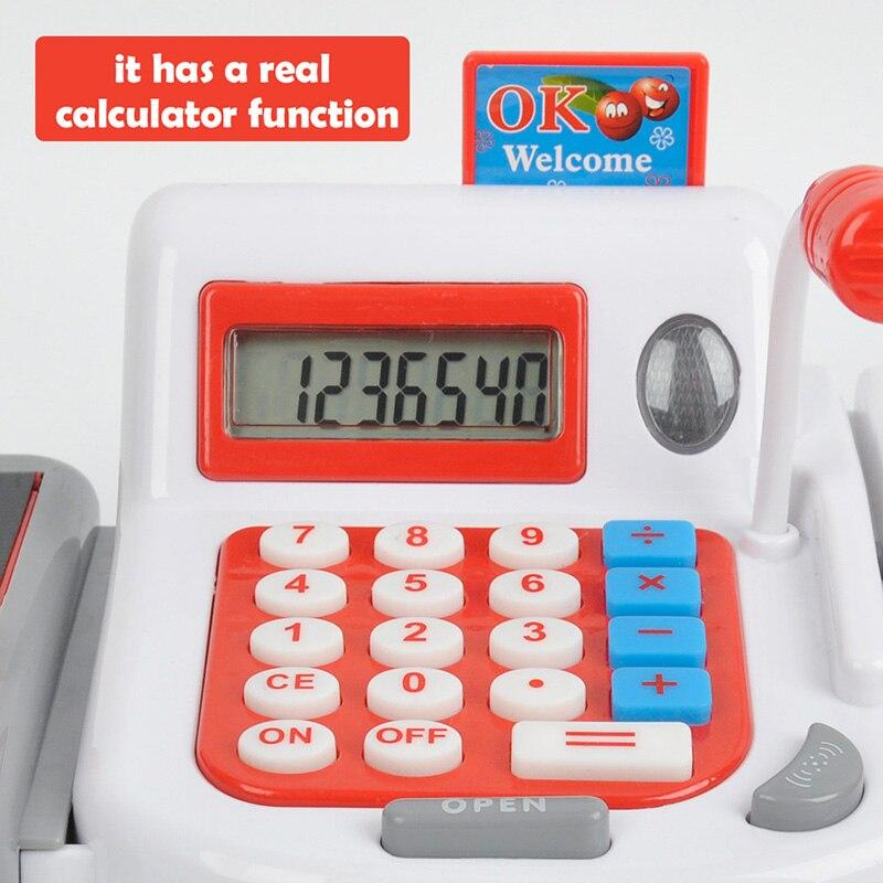 Kids-Supermarket-Cash-Register-Electronic-Toys-with-Foods-Basket-Money-Children-Learning-Education-Pretend-Play-Set-Red-Pink-D50-3