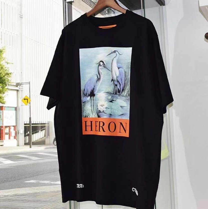 d6f30c8e869 Heron Престон футболка Для мужчин Для женщин 1 1 высокое качество heron  Престон Футболки японского