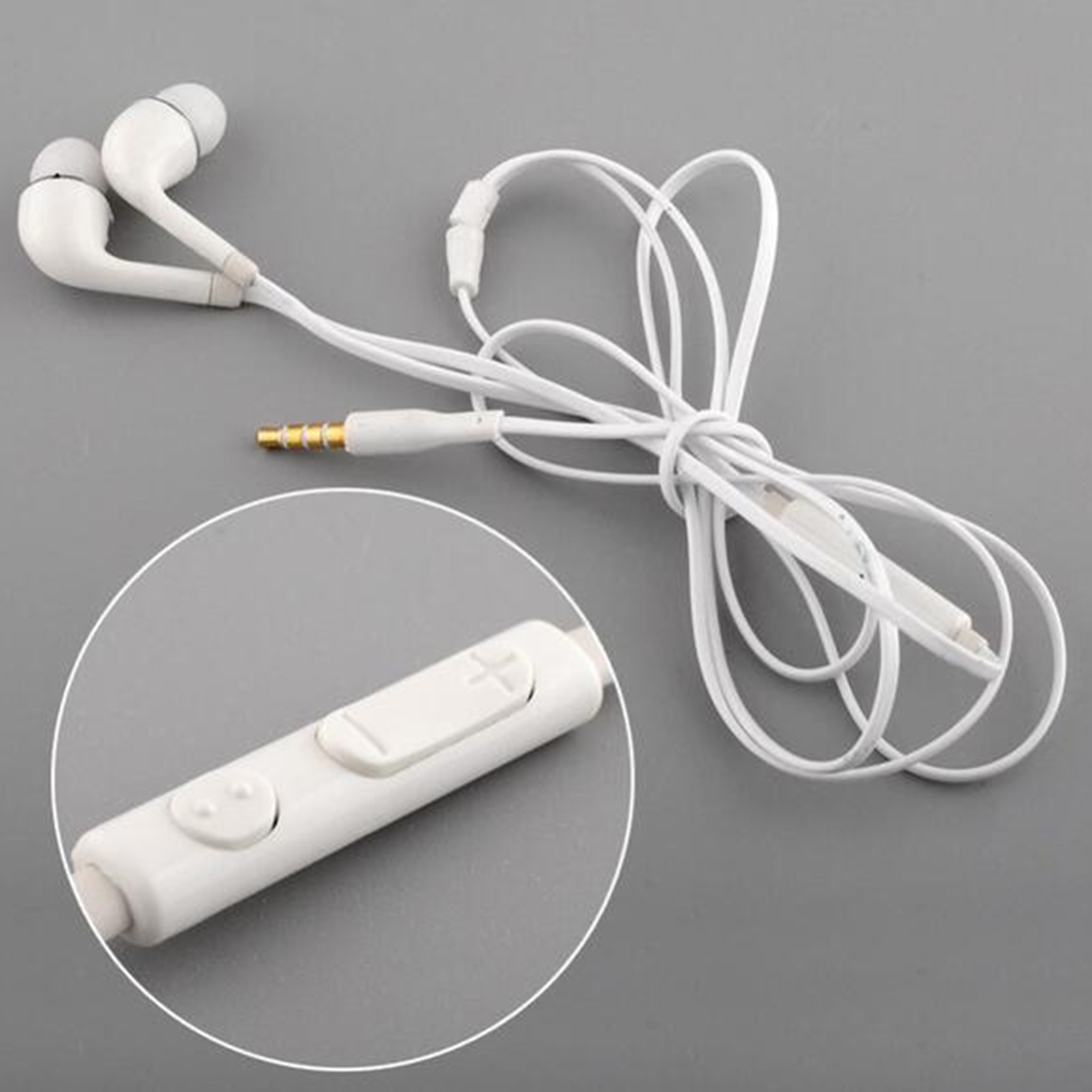 Marsnaska In-Ear Earphone With Mic Wired Control In Ear Earphone Phone Earphones For Samsung Galaxy S4 S3 S2 S5 s6 s7 Note 2 new 3 5mm in ear wired earphone