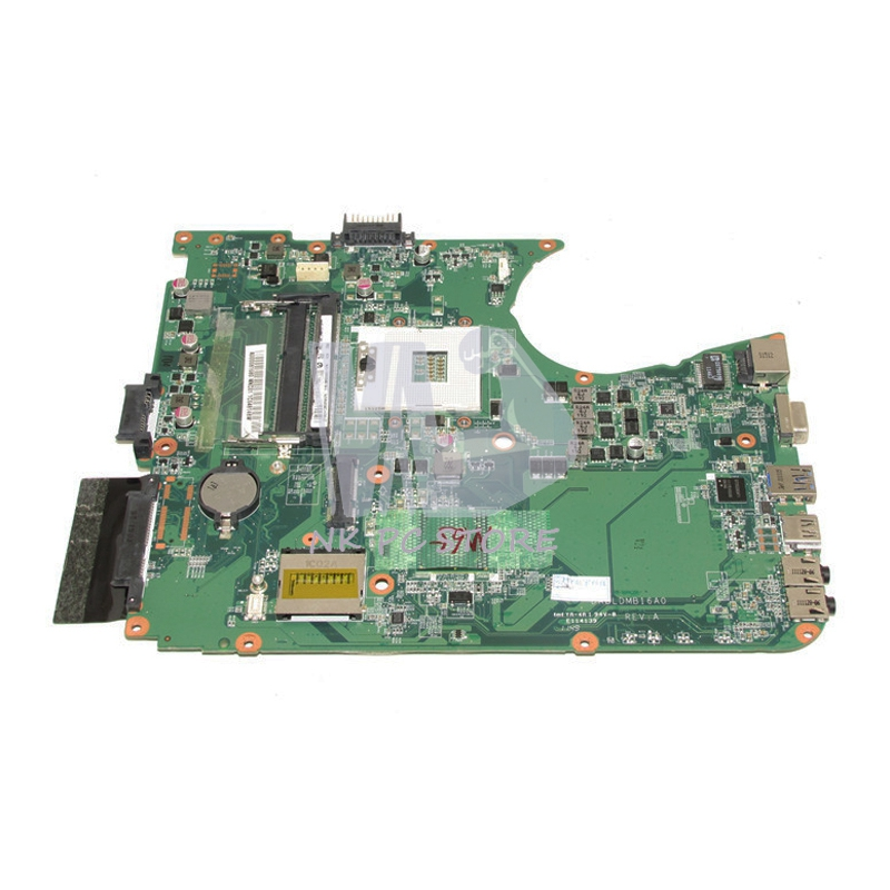 A000081680 DABLDMB16A0 For Toshiba Satellite L750 Laptop Motherboard HM65 ddr3 gma hd 100% tested for toshiba satellite l745 l740 intel laptop motherboard a000093450 date5mb16a0 hm65 tested