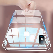 Shockproof Back Case For iPhone XR XS MAX X Transparent Silicon Soft TPU Cases Cover For iPhone 8 7 Plus 8Plus6 6S Plus 5 5s SE цена и фото