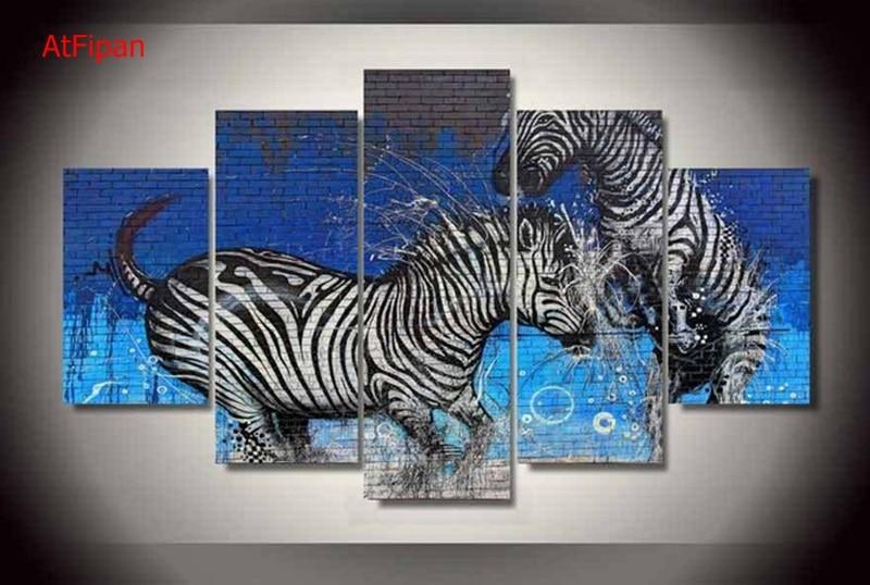 Zebra Wall Art popular zebra wall art-buy cheap zebra wall art lots from china