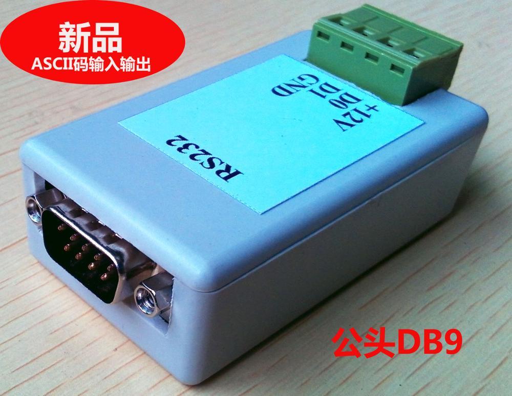 porta serial rs232 ir para wiegand wg26 01