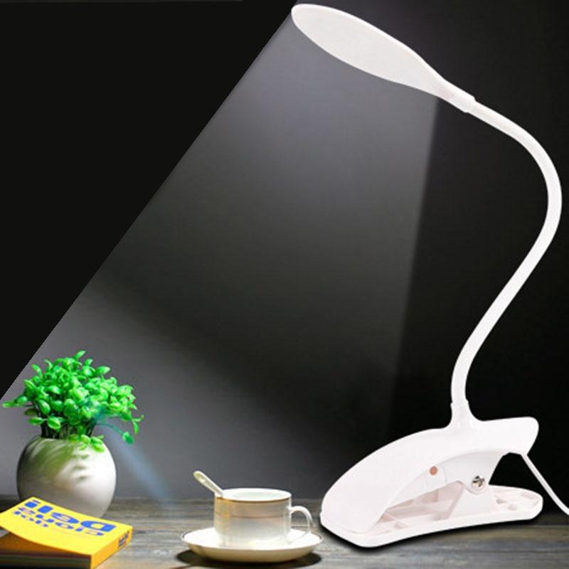 Flexible 14 Leds Schreibtisch Lampe Usb Lade Lesen Lichter Touch Sensor Dimmbare Lesen Studie 3 Modus Weiß Nacht Licht Tisch Lampen üBerlegene In QualitäT