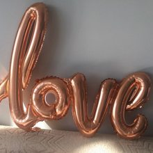 foil balloons love siamesed red heart ballon wedding decoration ballon romantic valentines day love letter balls