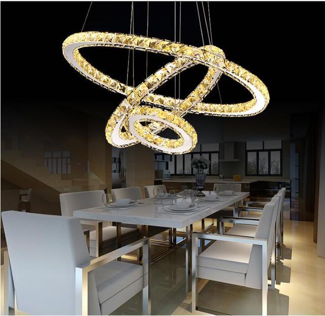 Modern LED Crystal Chandelier Lights Lamp For Living Room Pendant Hanging Ceiling Fixtures Cristal Lustre Chandeliers Lighting Chandeliers