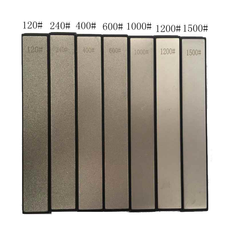 Mrosaa 240 400 600 1000 grit diamond knife sharpener Angle sharpening stone Whetstone Professional Knife Sharpener tool bar