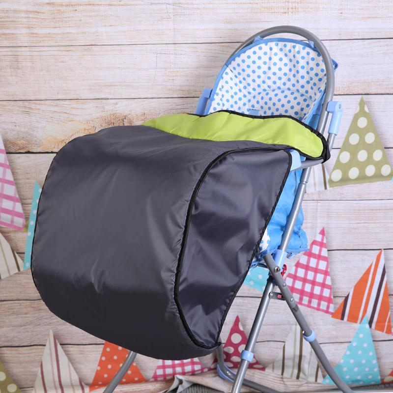 Universal Baby Cart Pram Foot Cover Windproof Warm 300D Cloth Baby Stroller Foot Muff Stroller Accessories Kids Buggy Foot Cover цена