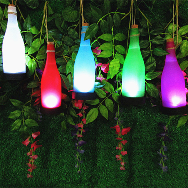 5pcslot solar led string lights cork wine bottle solar light 5pcslot solar led string lights cork wine bottle solar light lighting for outdoor garden aloadofball Gallery