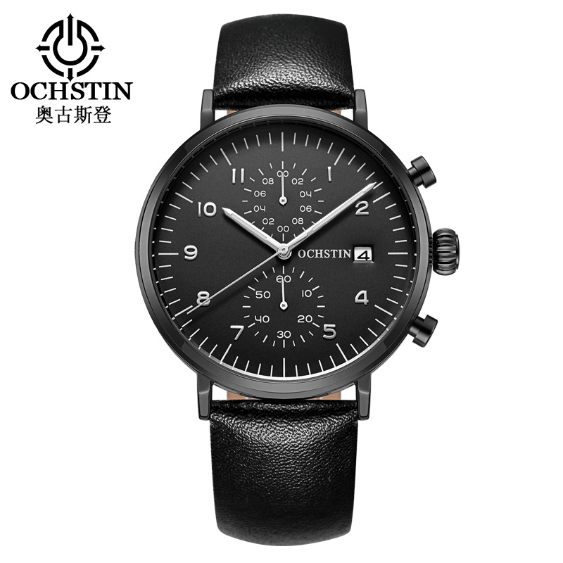OCHSTIN Business Watch Men Watches 2017 Top Brand Luxury Famous Mens Quartz Watch Wrist Male Clock Hours Relogio Masculino migeer relogio masculino luxury business wrist watches men top brand roman numerals stainless steel quartz watch mens clock zer