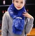 Новое прибытие леди blinger искусственного меха лисы шарф нереально кролика мех мыс искусственный мех глушитель одежда меховые палантины женщины воротник косплей