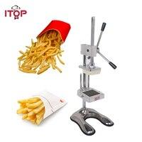 ITOP картофеля фри Chip Cut Резак Овощной Фрукты среза руководство Кухня оборудования коммерческие машины