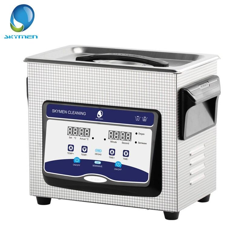 Skymen 3.2L Digital Ultra sonic Cleaner Banho Degas Ultrasound Cadeia Cleaner sonic Cleaner Carb Motor Peças Cortadores PCB Lavar