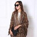 Foulard Femme Leopard Women Scarf Cotton Scarves Spring Charpes Echarpe Silk Scarf Blanket Shawls and Scarves