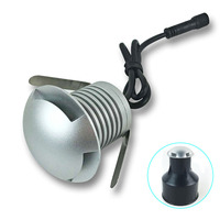 Waterproof LED Buried Light DC 12V 24V Mini LED Floor Lamp 3W High Bright Deck Light LED Underground Lamps Outdoor Path