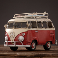 vintage surfboard bus car home decoration photography props retro iron art decorat of bars cafes and child room