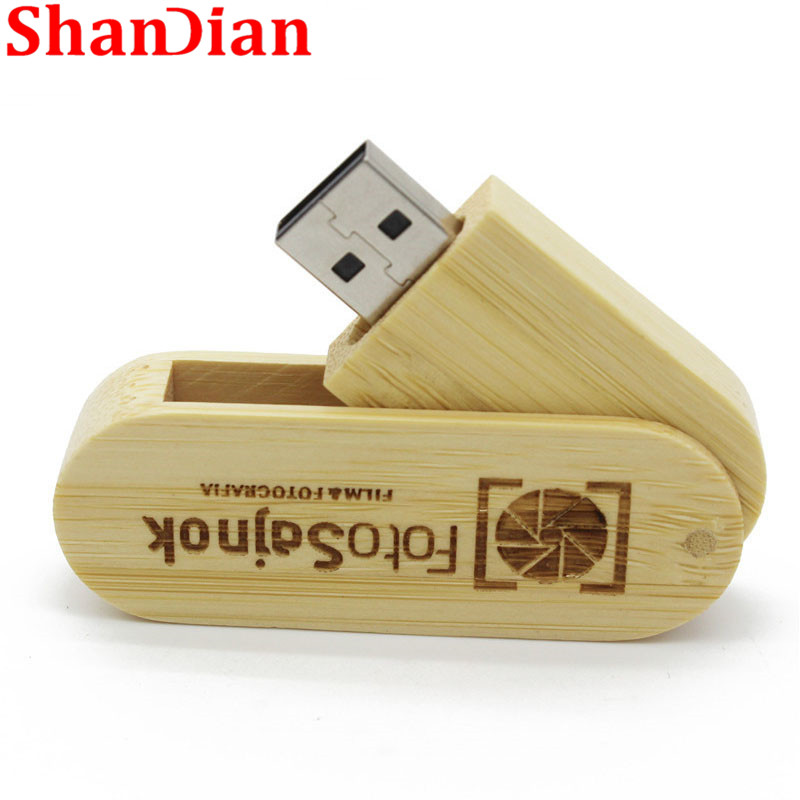 Rotatabl Wood Keychain Usb Flash Drive Thumb Drive Pendrive 8gb 16gb 32gb Photography Gift Jaster over 10 Pcs Free Logo