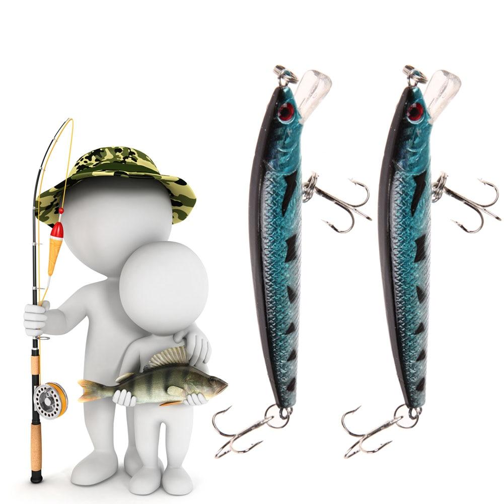 10pcs/Lot Kinds of Fishing Lures Crankbaits Hooks Minnow Baits Tackle Fake Fish Metal Lures Set sealurer 5pcs fishing sinking vib lure 11g 7cm vibration vibe rattle hooks baits crankbaits 5 colors free shipping