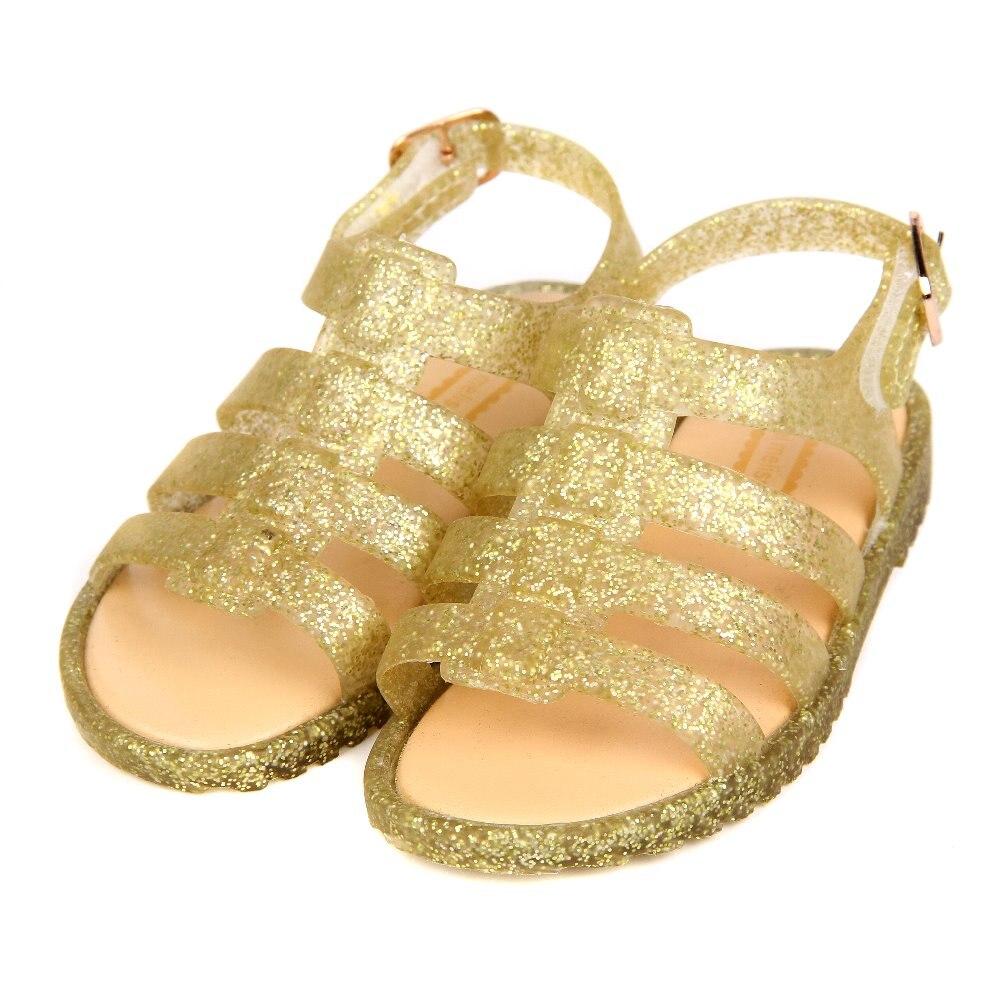 Mini Melissa Girls Roman Shoes Jelly Sandals Children Sandals Jelly Shoes Sandals Breathable Girls Boy Sandals Melissa