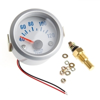 2'' 52mm Car Electrical Digital Pointer Water Temperature Meter Gauge New|Water Temp Gauges|Automobiles & Motorcycles -
