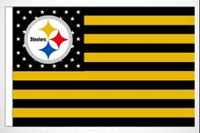 Custom flag Pittsburgh Steelers NFL Premium Team Flag 3X5FT 90x150cm 100% Polyester free shipping NFL banner