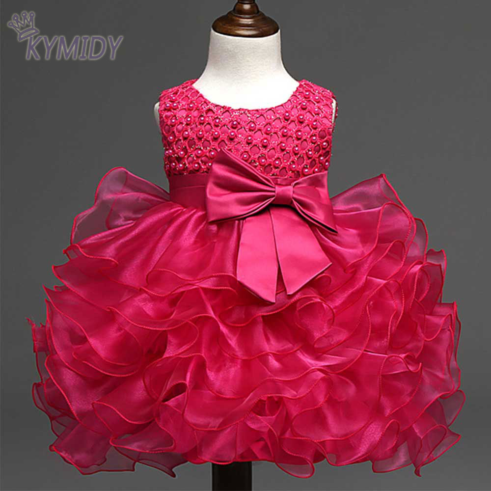 luxury baby girl dress for weddings baby princess party