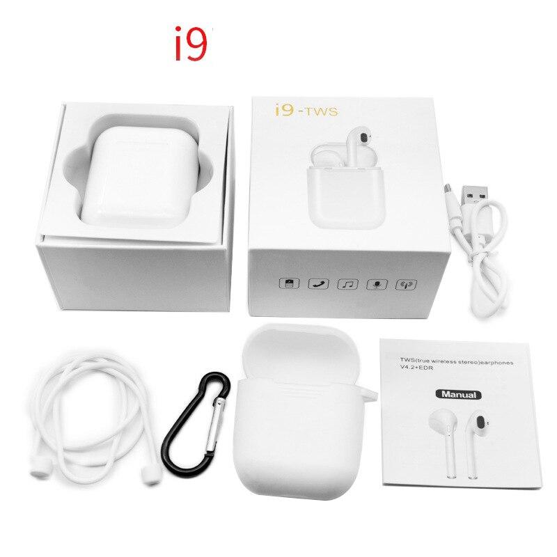 Ursprüngliche IFANS i9 TWS Bluetooth wireless stereo kopfhörer für ohr schoten iPhone 8 plus Air schoten xiaomi airdots meizu pop i10 tws