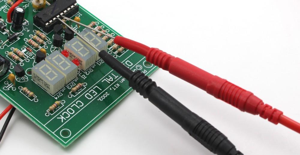 dmm09 электронные специальности тестовых проводов комплект автомобильной синхронизации зонда комплект универсальный мультиметр зонда приводит комплект