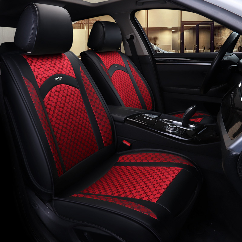 Housse de siège auto de luxe pour Mitsubishi lancer 9 10 x ix outlander 3 xl de 2010 2009 2008 2007