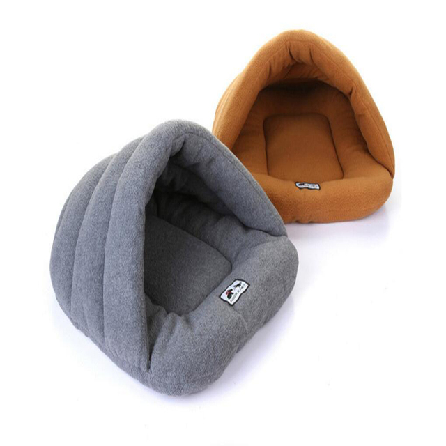 Hot Sale 6colors Pet Dog Bed Warming Dog House Soft Fluff Nest Dog Baskets Fall and Winter Warm Kennel For Cat Puppy Plus size