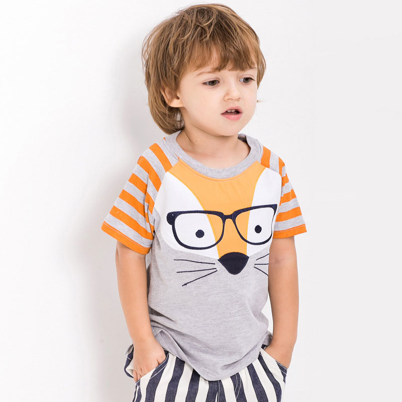 boys t shirt kids clothes summer brand 2016 infant baby