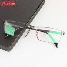 Gentlemen Pure Titanium Eyeglasses Frame Lentes Opticos Gafas
