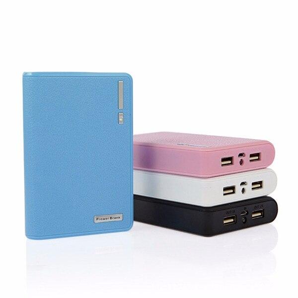 O envio gratuito de alta qualidade dupla usb outports power bank mobile power 8800 mah rohs