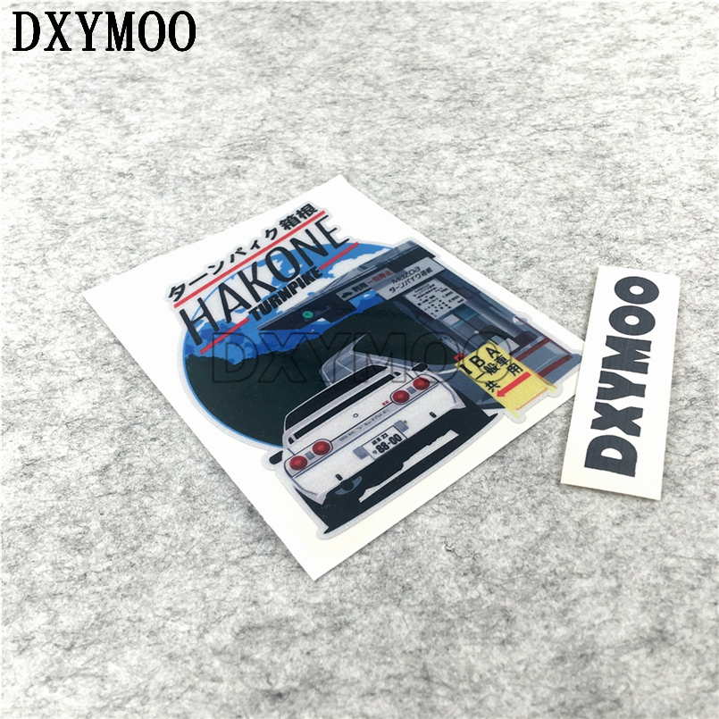 OSAKA OUTLAW HAKONE GK5 Car Stickers AE86 Japan Motorcycle Vinyl Decal Bumpers Car-styling 3M teddy mars book 3 almost an outlaw