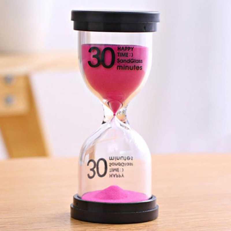 Песочные часы 1/3/5/10/15/30 минут таймер 60 минут песочные часы один час 45 минут таймер-подарок аксессуары для украшения дома HGXSL