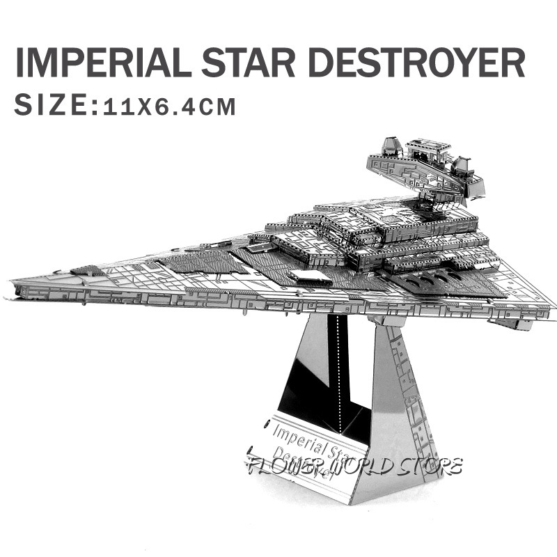 New Creative Star Wars 3d Model 3d Metal Puzzles Diy Jigsaws