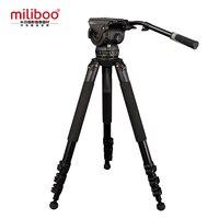 Miliboo M18L Профессионального Вещания Видео Штатив Головки Нагрузки 18 кг Максимальная Высота 81 для Видеокамеры/DSLR/камеры Стоят