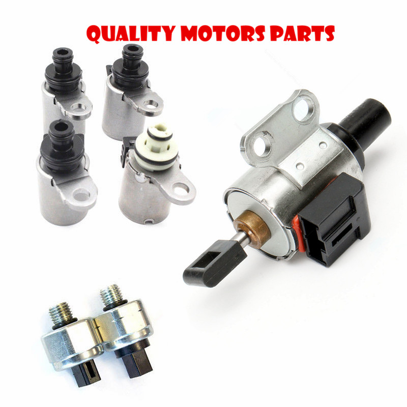 US $109 5 8% OFF|JF011E RE0F10A REOF10A CVT Transmission kit Solenoids 4+2  Switches+1 stepper motor for Jeep Patriot Mitsu lancer Renault nissan-in