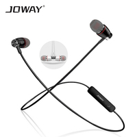 JOWAY H08 Sports Wireless Cordless Bluetooth 4 0 Earphone HIFI Bass Sound Magnetic Earpiece With Mic