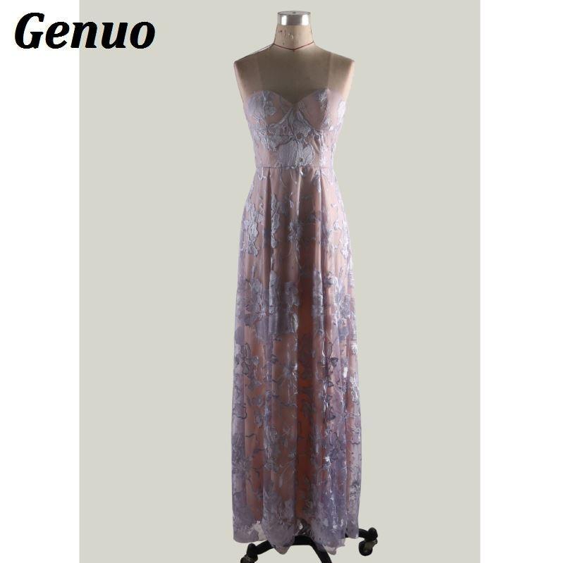 Floral Lace Party Long Dresses 9