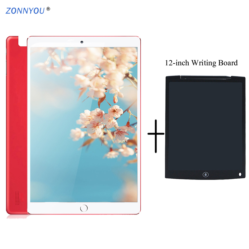 10.1 Inch Tablet PC Android 8.1 3G Phone Call Card Octa Core 4GB/64GB Wi-Fi Bluetooth GPS Tablets PC+12-inch Writing Board