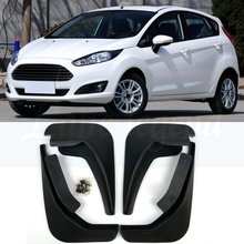 Molded Mud Flaps For Ford Fiesta Mk7 2009 - 2017 Mudflaps Splash Guards Mudguards 2010 2011 2012 2013 2014 2015 2016 Accessories mud flaps for vw tiguan mk1 2008 2016 limited 2017 mudflaps splash guards front rear mudguards 2009 2010 2011 2012 2013 2014