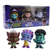 Super Toys Monsters 3-Pack Action Figures Kids Toy for Girl Original Katya Lobo Howler Set Hot Children
