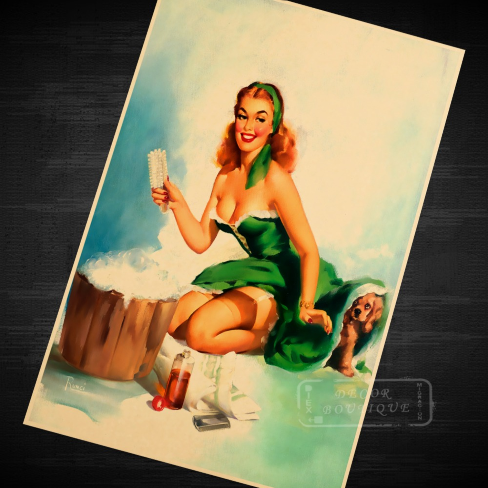Magnificent Pin Up Wall Art Picture Collection - Wall Art ...
